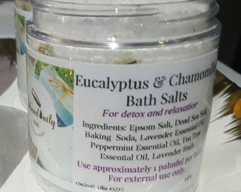 Eucalyptus and Chamomile Bath Salts | Pamper Gift