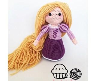 rapunzel pdf crochet pattern english/dutch