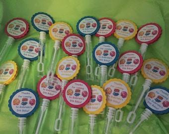 Shopkins Birthday Party Favors Bubbles BUBBLE WANDS set of 12