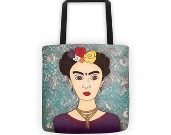 Frida Tote Bag, Frida Bag, Frida, Tote