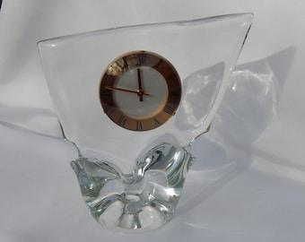 Schneider crystal pendulum signed