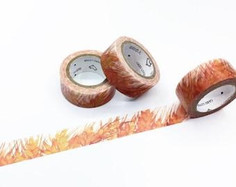 Harvest Wheat Washi Tape - Season's Color Series