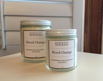 Aromatherapy Blood Orange Sugar Body Scrub