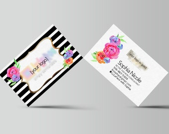 Custom Business Card - office approved fonts colors