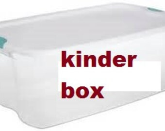 Kindergarten Curriculum Box