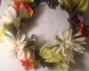 Cottage Fantasy Flower Crown