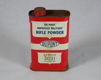 Vintage Gun Powder Tin