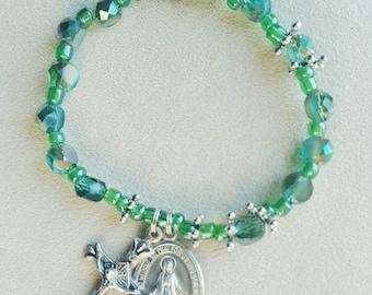 Ivy Rosary Bracelet