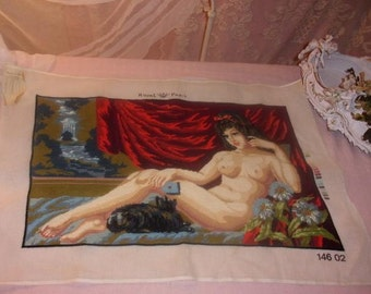 former great, pretty vintage tapestry
