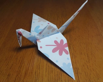 20 Origami Crane Wedding Favors Baby Girl P1/3