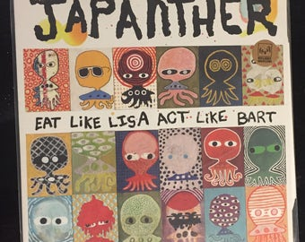 """Japanther """"Eat Like Lisa Act Like Bart"""" 12 inch record"""