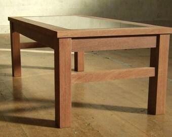 Ekki Red Ironwood Indoor/Outdoor Coffee Table