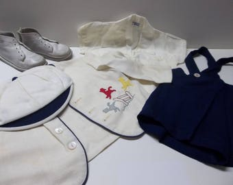 Vintage Baby Boy Outfit Christened 1955