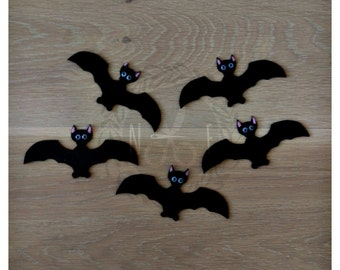 Five Black Bats Felt Song