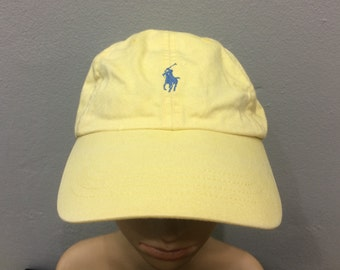 Vtg Polo Cap By Ralph Lauren Small Pony Free Saiz For All