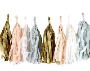 Blush Tassel Garland | Wedding Tassel Garland | Baby Shower Decor