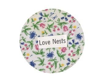 """Love Nests 2.5"""" Round Sticker"""