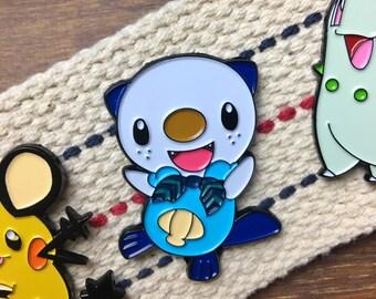 Pokemon Enamel Pin - Cute Oshawott Enamel Pin