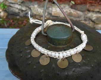 Freshwater Pearl Charmed Bracelet/Anklet
