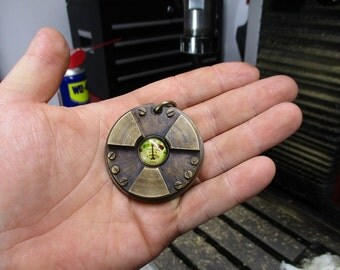 Steampunk\post apocalyptic medallion