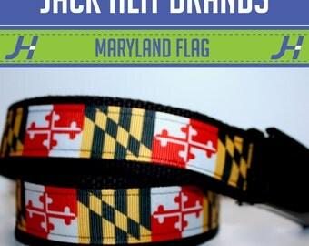 Maryland Flag Belt