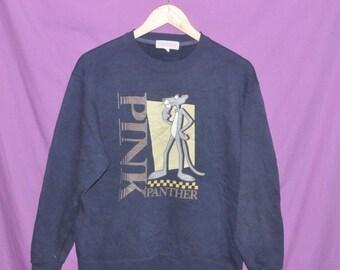 Vintage Pink Panther Cartoon Sweatshirt Sweater Jacket