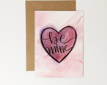 Be Mine, Valentine's Day Card PRINTABLE