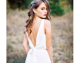 Bridesmaid dress - Lily - unique gown. Bridal gown. Bohemian wedding dress. Fairy wedding dress. Boho wedding dress