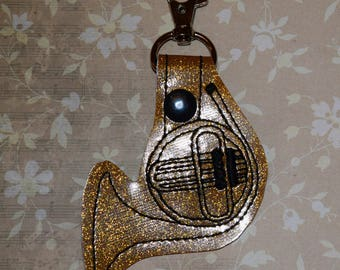 French Horn Keychain