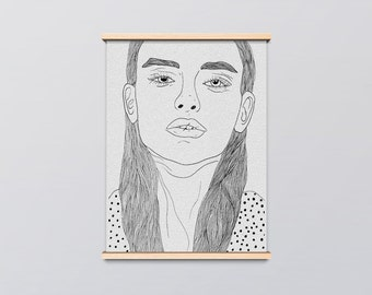 Not Impressed Art Print