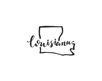 Louisiana - printable download
