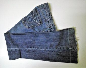 "Vintage ""Vanity Tyler"" Hip Hugger Bell-Bottom Jeans - Size 26 x 31"