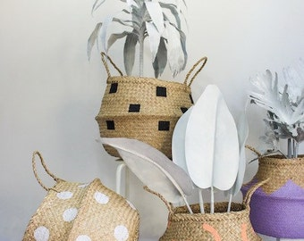 Handmade Seagrass Baskets Large
