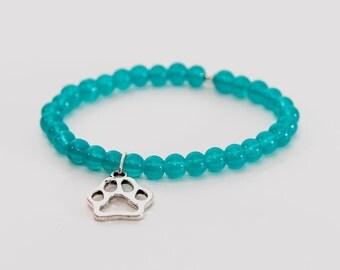 Paw Beaded Bracelet