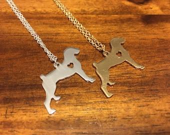 Boxer Necklace - Boxer Pendant - Boxer Charm - Boxer Jewelry - Boxer Love - Boxer - Boxer Dog - Boxer Dog Jewelry - Boxer Dog Necklace