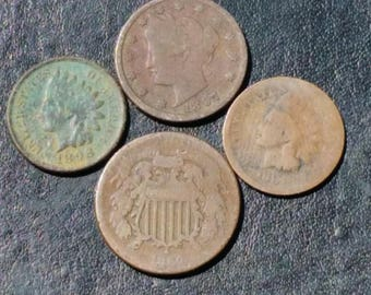 Old US coins 1800ths