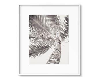 Sepia Palm Trees, Tropical Decor, Palm Tree Print, Printable Art, Beach Decor, Black and White Print, Sepia Prints, Art, Gallery Wall, Print