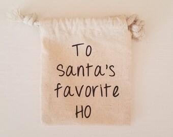 Gift Card Holder- Santas Favorite Ho