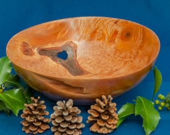 birdseye maple bowl