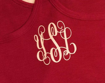 Personalized/Monogramm tank top (very cute for work-out)