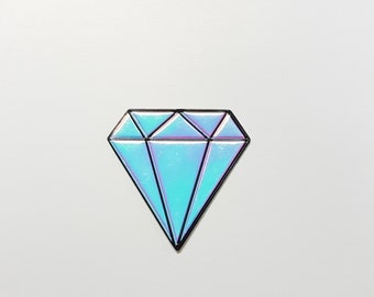 Diamond with Shiny Foil Pu Sticker!! Free Shipping !!