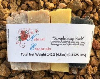 Natural Soap Sample Pack