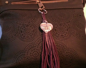 Deep Purple Mom charmed tassel