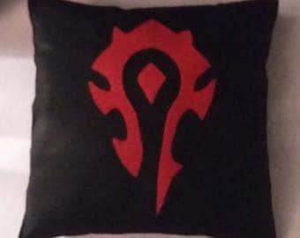 World of Warcraft Horde Decorative Cushion