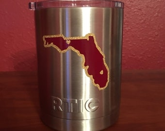 Florida State RTIC Low Ball tumbler