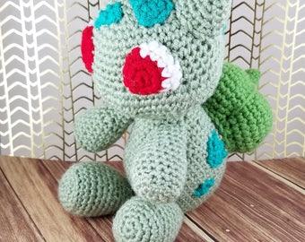 Bulbasaur Amigurumi - Crochet Bulbasaur - Pokemon Amigurumi