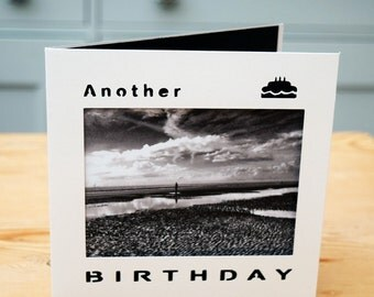 Birthday card, Another Place, Ironmen, Crosby beach