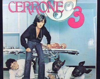 Cerrone 3 - Supernature - Vinyl Record LP