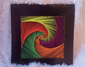 Colorful Square Wall Hanging