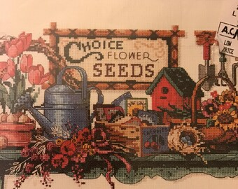Dimensions Garden Collectibles counted cross stitch kit